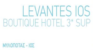 Ξενοδοχείο LEVANTES IOS BOUTIQUE HOTEL 3* SUP