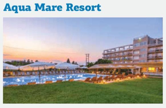 Ξενοδοχείο Aqua Mare Resort 3*